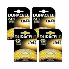 Duracell Specialty Type Lr44 Alkaline Coin Battery Pack of 8