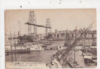 Marseille Vieux Port & Transbordeur France Vintage Postcard 831a