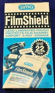 Vintage Sima Lead Film Shield - Holds up to 22 Rolls of Film - NOS