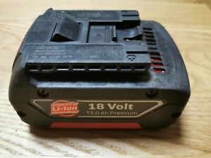 BoschProfessional 18 Volt Lithium-Ionen Akku GBA 18V / 3 Ah Akku Original