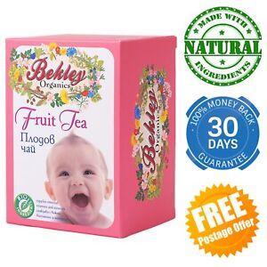 Baby Fruit Tea Organic Herbs Rosehip Fennel Apple Natural Infant Child Vitamins