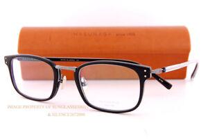 Brand New MASUNAGA Eyeglass Frames GMS 820-49 Black