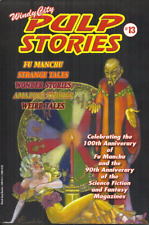 WINDY CITY PULP STORIES #13 2013 - WEIRD TALES, AMAZING STORIES, FU MANCHU, more