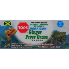 TOPS Jamaican Ginger Fever Grass Tea Bags - 31.6 g (3 boxes)