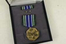 Vintage 8/84 US Military Army MEDAL For MILITARY ACHIEVEMENT Presentation Case