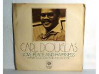 "CARL DOUGLAS - LOVE, PEACE AND HAPPINESS - SINGLE 7"" - ESPAÑA - (EX/NM - EX/NM)"
