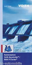 Prospekt Voith Aquatarder MAN PriTarder 10/05 brochure 2005 Lkw Nutzfahrzeuge