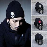 Winter Warm Beanie Hat Cap Unisex Women Men Knitted Hip-hop Dance Skull Ski Hats