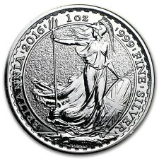Silver 1 ounce Britannia from The Royal Mint - Choice of Year