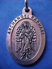 ARCHANGEL St RAPHAEL Saint Medal Large 1-3/4inches Long Protection Angel