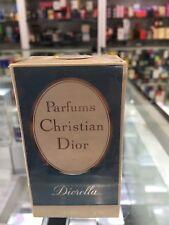 CLASSIC Christian Dior Diorella Parfum .25 fl. oz.