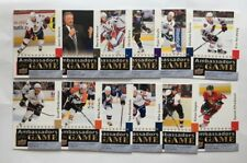 Lot of (12) 2009-10 Upper Deck Ambassadors of the Game Ice Hockey