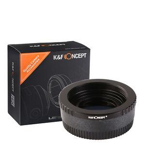 K&F Concept M42-NIK Lens Adapter Ring for M42 Screw Lens to Nikon Mount Cameras