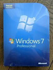 Sealed Microsoft WINDOWS 7 PROFESSIONAL UPGRADE 32/64-BIT