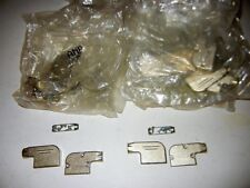 TYCO, AMP P/N 745652-2 15 PIN SUBMINIATURE CONNECTOR COVER CLAMP, LOT OF 20 PCS.