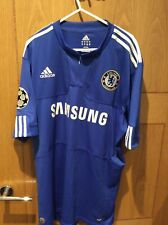 chelsea football shirt Size Large Champions League Patches