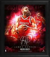 James Harden Houston Rockets Framed 15x17 Stars of the Game Collage - Facsimile