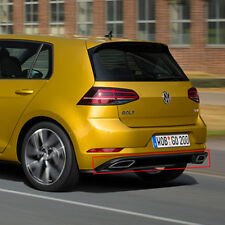 Golf 7 VII R-Line Facelift Heckdiffusor Diffusor Original Volkswagen Nachrüstung