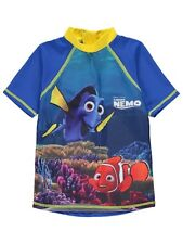 Boys Rash Vest 12-18 Months UV Protection Swimwear Sunsafe Finding Nemo NEW BNWT
