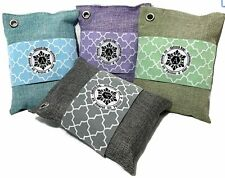 Activated Bamboo Charcoal Air Purifying Bags - Freshener Deodorizer Neutralizer