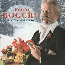 KENNY ROGERS 2000 COUNTRY CD CHRISTMAS GREETINGS 10 tracks WHITE CHRISTMAS