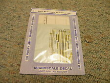 Microscale decals N 60-872 May Trucking 28' 53' trailers 1989+  D18