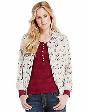 Marks and Spencer Semi Fitted Floral Collared Women's Tops & Shirts