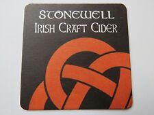 Birra Sottobicchiere ~ Nohoval Birreria Stonewell Irlandese Craft Apple Cider ~