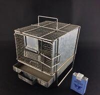 Rarissime cage d'expérimentation laboratoire vintage cabinet de curiosités