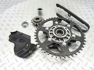2014 12-14 Ducati Monster 696 Rear Wheel Hub Drive Sprocket Front Cover OEM