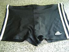 Adidas Boxer Badehose Badeshort Swim Short Hose size ca. 6 - 7  Vintage schwarz