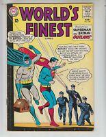 World's Finest 148 VG+ (4.5) 3/65 Batman & Superman: Clayface/Luthor teamup