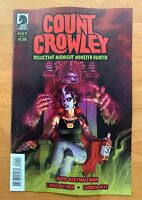 COUNT CROWLEY RELUCTANT MONSTER HUNTER #1 Main Cover A 1st Print 2019 NM+