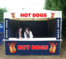 HEAVY DUTY KIOSK CATERING FOOD GAZEBO PRINTED FREE DESIGN FAST 7 DAY DELIVERY