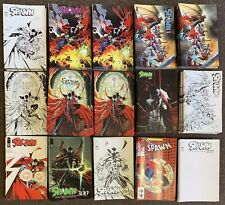 15 Spawn #300 Todd McFarlane J. Scott Campbell Complete Covers Set Nm