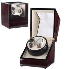 Uhrenbeweger Uhrenbox Uhrenkasten Vitrine Mahagoni Holz Uhrendreher Uhren Watch