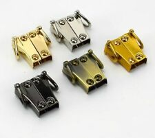 2 or 4pairs Meetee Fashion Handbag Strap Side Clip Metal Buckles Bag Accessories