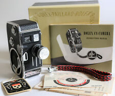 EX Paillard Bolex C8 8mm Movie Camera, Paillard Yvar 1.9 13mm, Orig Box, Tag +