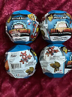 FUNKO Marvel BATTLE WORLD Mystery of the Thanostones Lot of 4 Battle Balls NIP