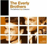 THE EVERLY BROTHERS The Definitive Pop Collection (2006) 2-CD NEW/SEALED