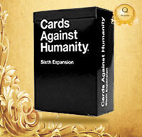 NEW Cards Against Humanity: Sixth Expansion UK Edition FREE & FAST DELIVERY!!