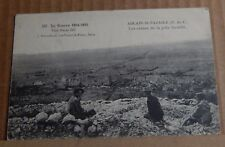 Postcard WW1 Ablain St Nazaire Ruined Buildings  unposted