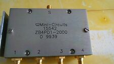 Power Splitter/Combiner, Mini-Circuits,  ZB4PD1-2000