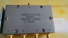 Power éclats/Combiner, Mini-Circuits, zb4pd1-2000