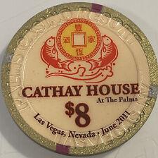 PALMS $8 Casino Chip Las Vegas Nevada 3.99 Shipping