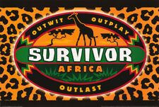 POSTER :TV SHOW: SURVIVOR AFRICA   -    FREE SHIPPING !    #24-072     RW24 i