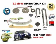 FOR FORD FIESTA ST150 2.0 N4JB 3/2005-2008 NEW 11 PIECE TIMING CAM CHAIN KIT