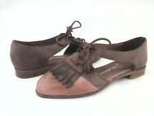 JEFFREY CAMPBELL Shoes Kiltie Tassel Oxfords Brown KELLEY Brogues US 6 /36 $155