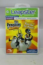 New LeapFrog Leapster 1 & 2 Learning Game The Penguins of Madagascar Brand New!!