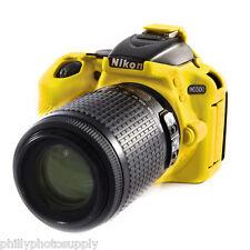 easyCover Armor Protective Skin for Nikon D5600 (Yellow) ->Bump Protection!